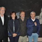 Da destra Antonio Natali Franca Conti Luca Pignatelli e Massimo Bertozzi