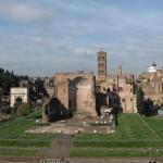 Veduta del Tempio di Venere e Roma
