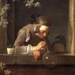 """""""Le bolle di sapone""""  del 1734"""