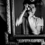 Horvat - self portrait - Lugano 1945