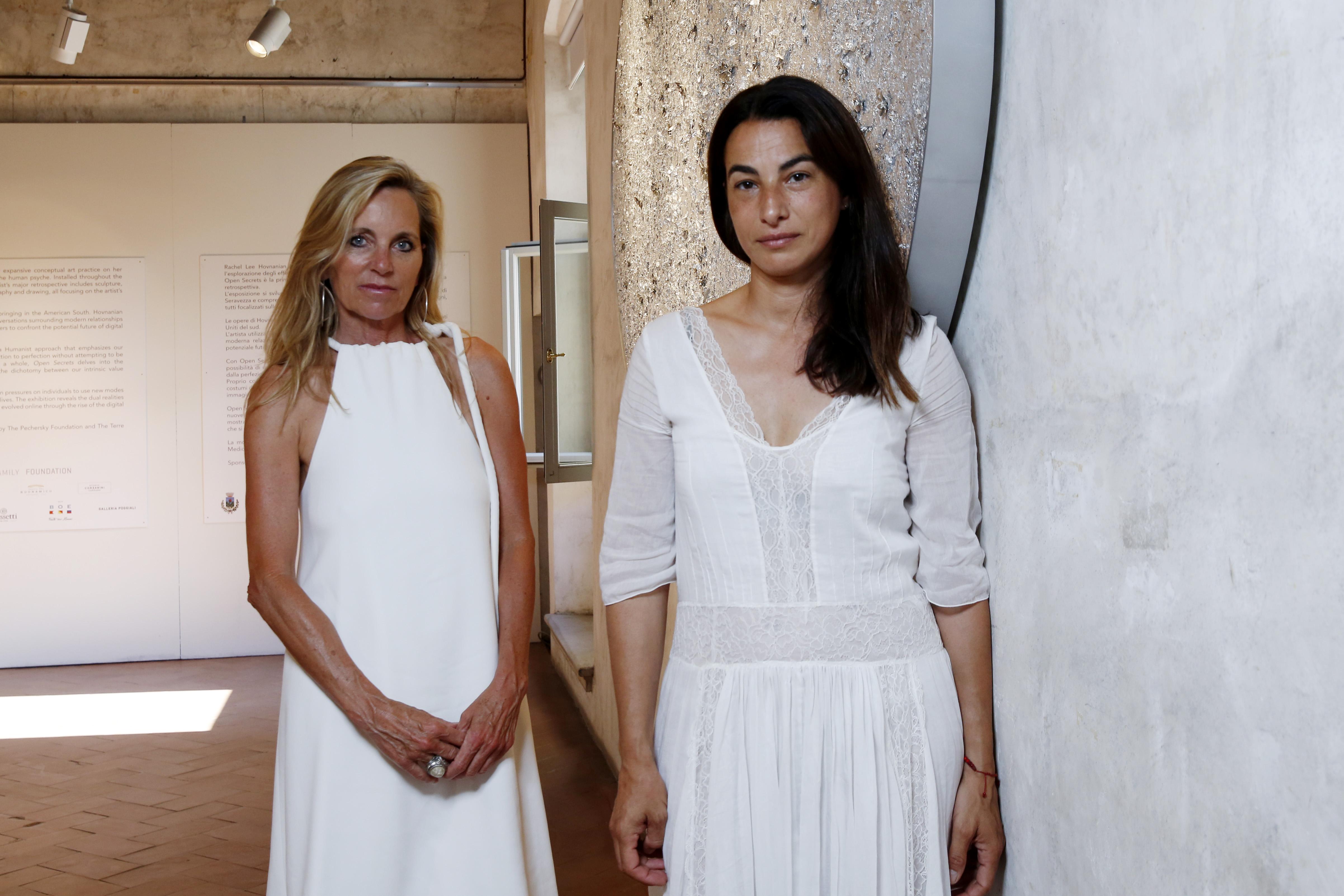 Rachel Lee Hovnanian e Annalisa Bugliani